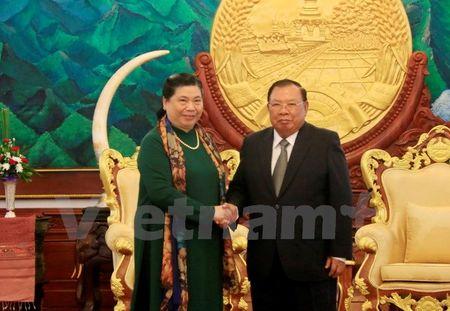 Lanh dao Lao tiep Doan dai bieu cap cao Dang, Nha nuoc Viet Nam - Anh 1