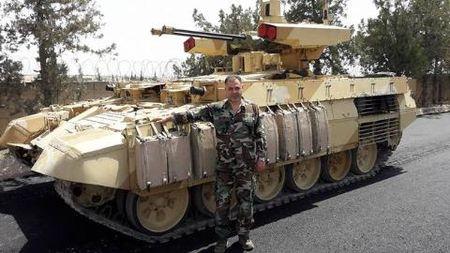 Liwa al-Quds: Luc luong Syria dau tien nhan Ke huy diet BMPT-72 - Anh 2