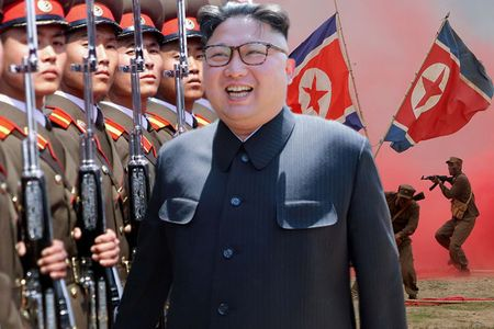 Kim Jong-un to My 'bip bom' ve nguy co chien tranh - Anh 1