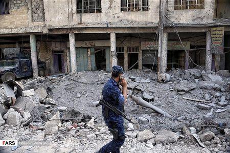Luc luong canh sat Iraq o Mosul sau ngay giai phong - Anh 5