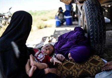 Giao tranh ac liet, thuong dan Syria lu luot roi Raqqa - Anh 5