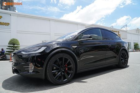 Chi tiet xe dien Tesla Model X P100D hon 8 ty tai SG - Anh 12
