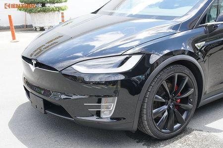 Chi tiet xe dien Tesla Model X P100D hon 8 ty tai SG - Anh 3