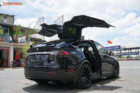 Chi tiet xe dien Tesla Model X P100D hon 8 ty tai SG - Anh 4