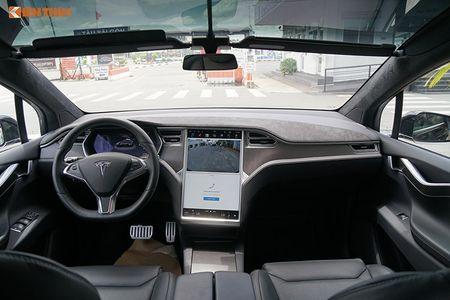Chi tiet xe dien Tesla Model X P100D hon 8 ty tai SG - Anh 7