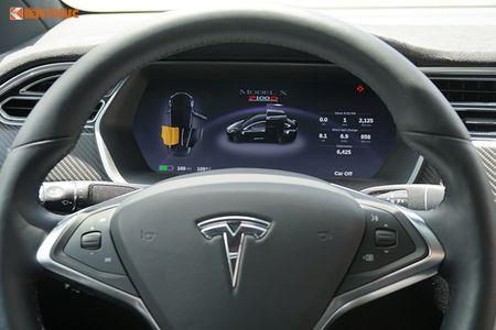 Chi tiet xe dien Tesla Model X P100D hon 8 ty tai SG - Anh 8