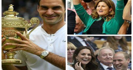 Vo dich Wimbledon 2017: VUA Federer om hon vo tham thiet - Anh 1