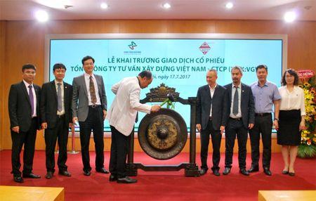 TCty Tu van xay dung Viet Nam chao san UPCoM - Anh 1