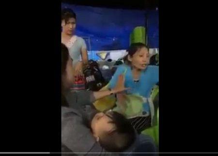 Cong an TP Da Nang phu nhan clip nghi bat coc tre em tren mang - Anh 1