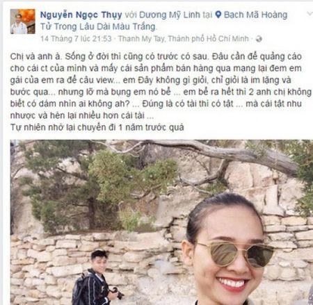 Ai cung 'soc' khi ban than lo ly do Duong My Linh chia tay Bang Kieu - Anh 1