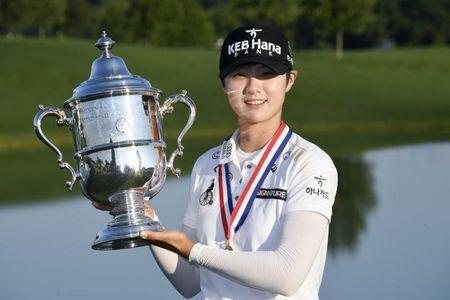 Sung- Hyun Park chinh phuc danh hieu Major dau tien tai U.S. Women's Open - Anh 1