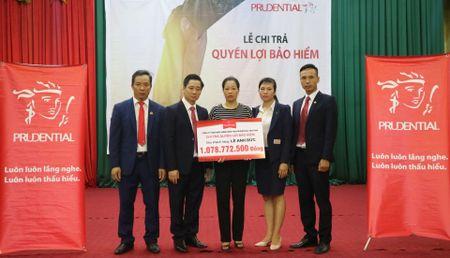 Prudential chi tra hon 1 ty dong cho khach hang tai Hung Yen - Anh 1