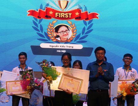 Nguyen Kieu Trang doat quan quan cuoc thi Olympic tieng Anh - Anh 1