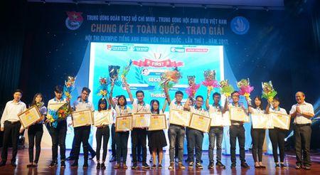 Nguyen Kieu Trang doat quan quan cuoc thi Olympic tieng Anh - Anh 2