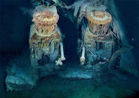 Loat anh lan dau tien phat hien tau dam Titanic nam 1985 - Anh 1