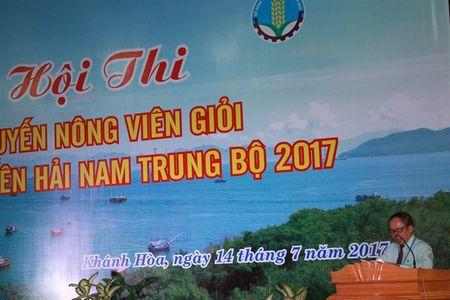 Hoi thi khuyen nong gioi vung Nam Trung Bo - Anh 1