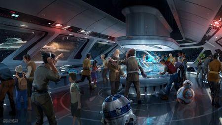 Disney mang 'Chien tranh giua cac vi sao' ve trai dat - Anh 4