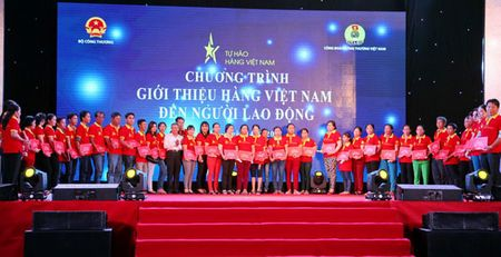 Gioi thieu hang Viet Nam den nguoi lao dong tai Can Tho - Anh 1