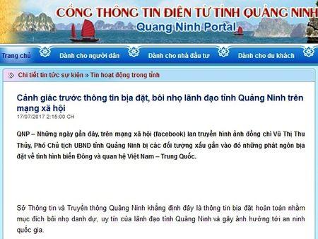 Dieu tra, xu ly nghiem doi tuong tung tin boi nho lanh dao - Anh 1