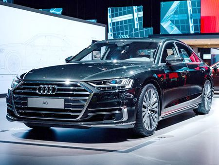 Thiet ke va noi that tuyet dep cua Audi A8 2018 - Anh 1
