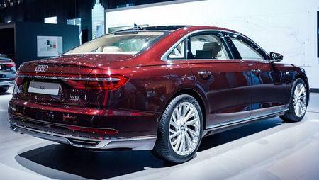 Thiet ke va noi that tuyet dep cua Audi A8 2018 - Anh 3