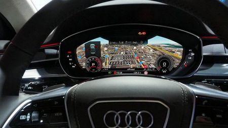 Thiet ke va noi that tuyet dep cua Audi A8 2018 - Anh 5