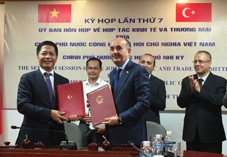 Tho Nhi Ky de xuat dam phan FTA voi Viet Nam - Anh 1