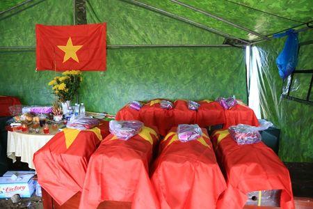 Tim thay hai cot 21 liet si hy sinh trong tran danh An Dien tai Binh Duong - Anh 1