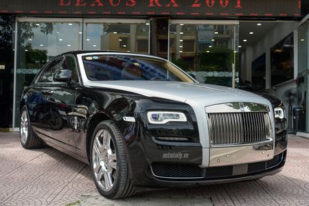 Rolls-Royce Ghost Series II rao ban gia 25 ty dong tai Ha Noi - Anh 1