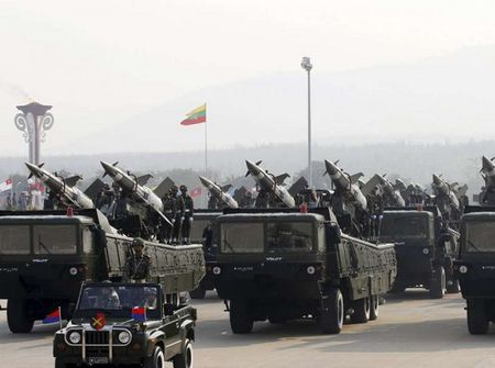 Myanmar khang dinh khong ho tro quan su cho Trieu Tien - Anh 1