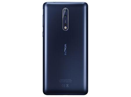Lo camera kep xep doc cua Nokia 8, khong co logo Zeiss - Anh 1
