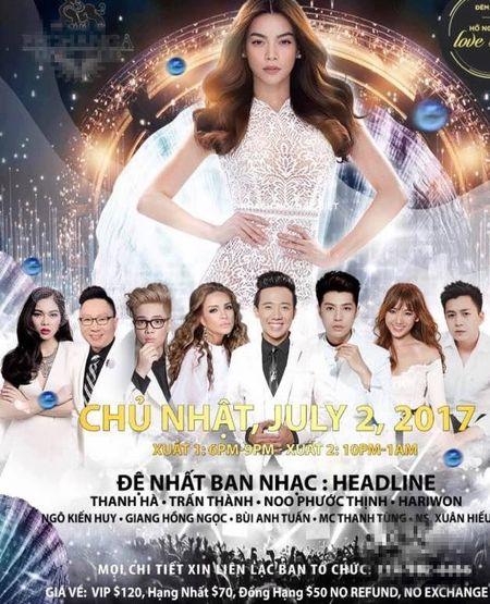 Tranh cai show cua Ho Ngoc Ha o My hut khan gia vi ve mien phi - Anh 2