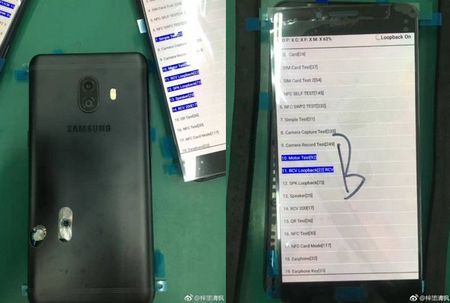 Dien thoai tam trung Galaxy C10 se co camera kep - Anh 1