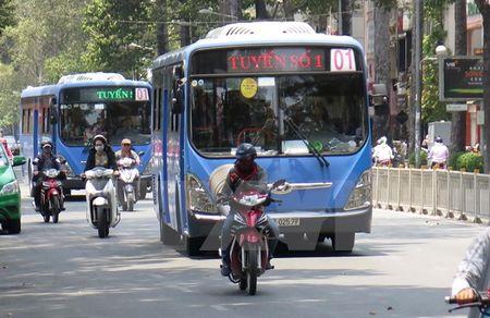 TP Ho Chi Minh day manh phat trien xe buyt de giam un tac giao thong - Anh 1