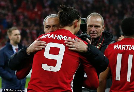 Jose Mourinho xac nhan Ibrahimovic dang dam phan ky hop dong moi voi MU - Anh 2