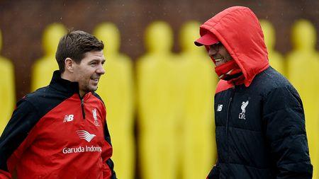 Lan dau 'dung lop' cua Steven Gerrard tai Liverpool - Anh 7
