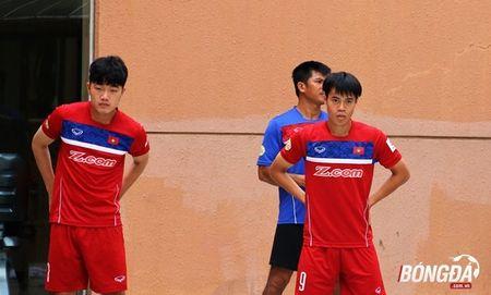 U22 Viet Nam can doi cac bai tap truoc SEA Games 29 - Anh 11