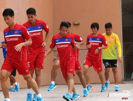 U22 Viet Nam can doi cac bai tap truoc SEA Games 29 - Anh 1