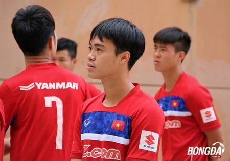U22 Viet Nam can doi cac bai tap truoc SEA Games 29 - Anh 2