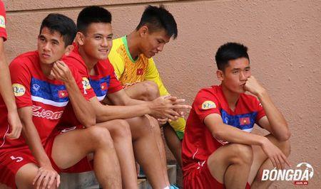 U22 Viet Nam can doi cac bai tap truoc SEA Games 29 - Anh 4