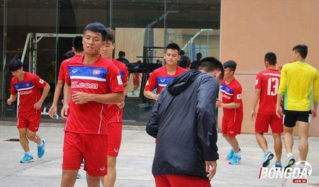 U22 Viet Nam can doi cac bai tap truoc SEA Games 29 - Anh 7