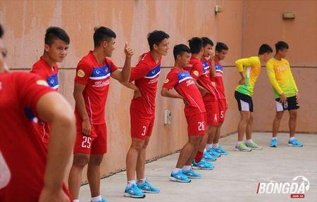 U22 Viet Nam can doi cac bai tap truoc SEA Games 29 - Anh 8