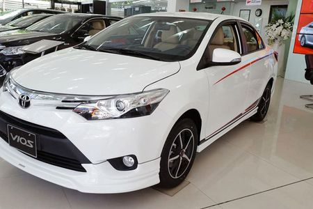 Soi 'Xe hop' Toyota Vios Sports Edition 2017 gia 452 trieu - Anh 2