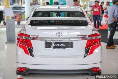 Soi 'Xe hop' Toyota Vios Sports Edition 2017 gia 452 trieu - Anh 4