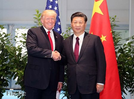 Chu tich Tap Can Binh va Tong thong Trump noi gi khi dien dam ve Trieu Tien? - Anh 1