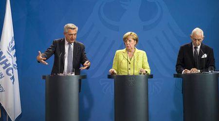 Thu tuong Duc ung ho EU ky thoa thuan voi Libya ve nguoi di cu - Anh 1