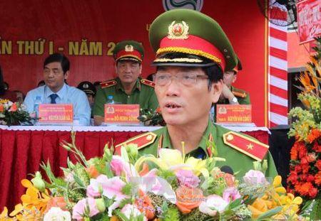 Khai mac hoi thi the thao nghiep vu cuu nan, cuu ho cua luc luong Phong chay chua chay - Anh 1