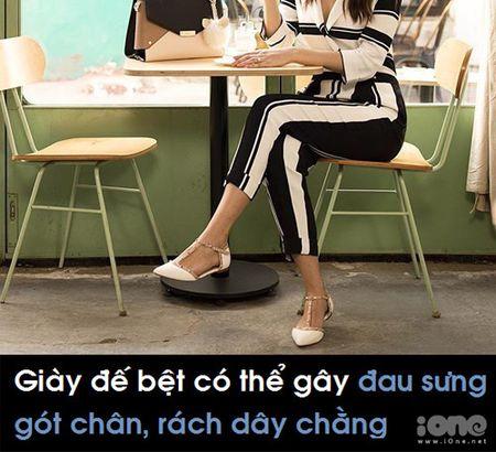 Di giay bet tuong an toan nhung co the gay ra 4 tac hai khong ngo - Anh 1