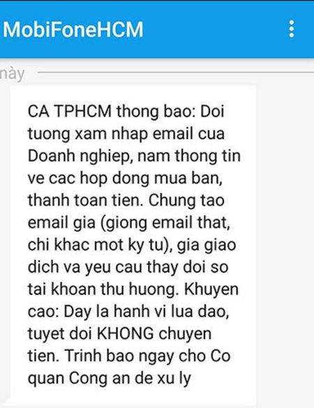 Tung chieu lap email gia, toi pham cong nghe cao giang bay doanh nghiep - Anh 1