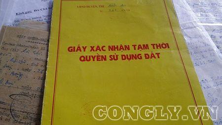 Vu tranh chap dat o Binh Dai-Ben Tre: Co co so cap so do cho nhung ho dan bi doi dat - Anh 3